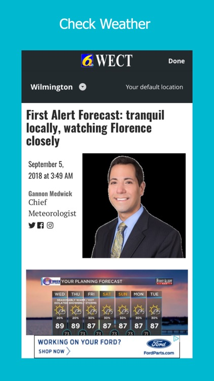WECT 6 Where News Comes First screenshot-3