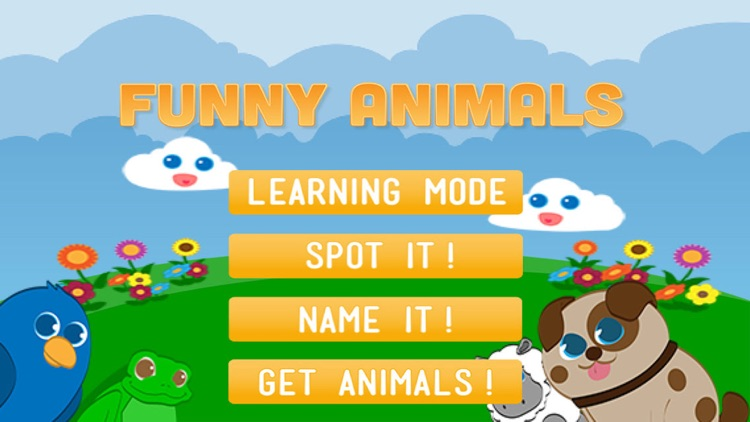 Funny Animals: Play and learn! screenshot-3