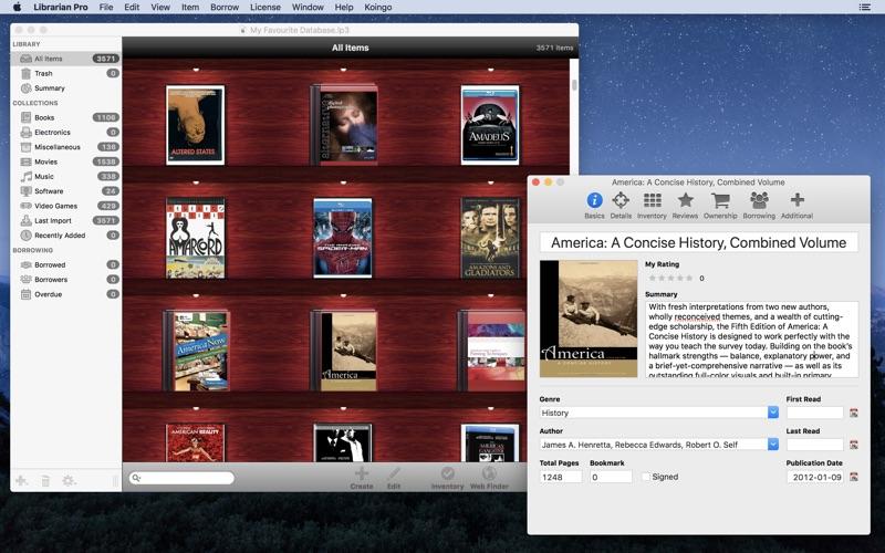 Librarian Pro Screenshot