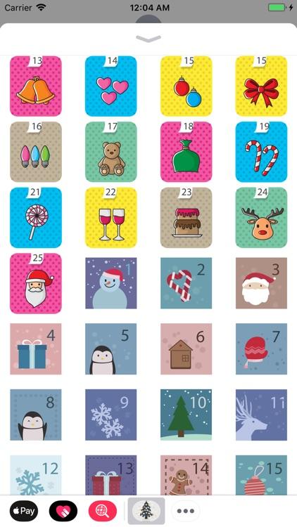 Advent Calendar - Stickers screenshot-4
