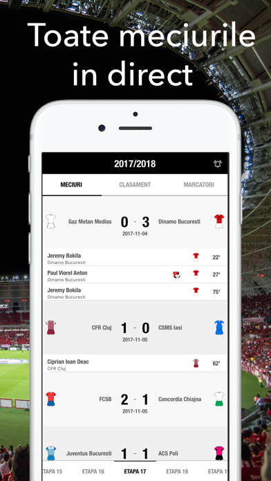 Fotbal Romania Live - Liga 1 screenshot one