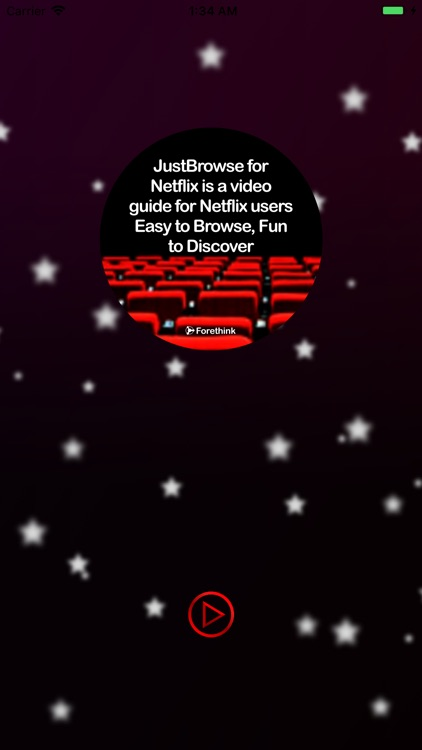 JustBrowse for Netflix