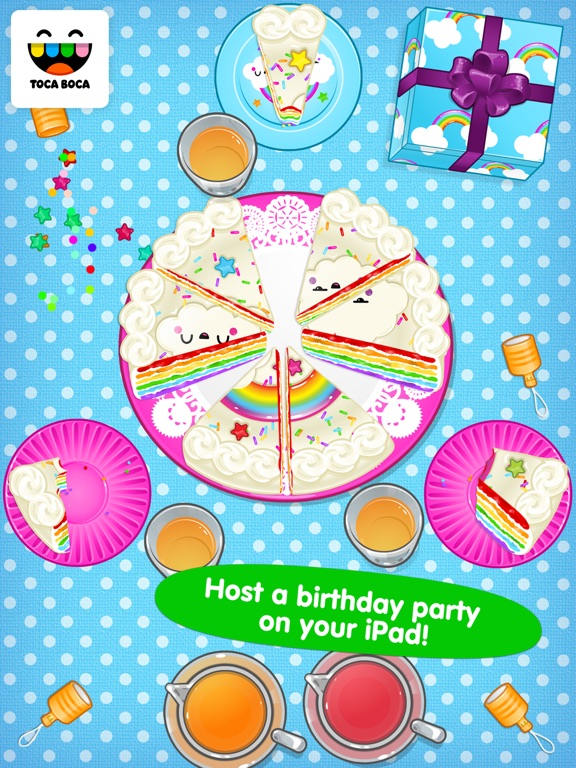 Toca Birthday Party Screenshots