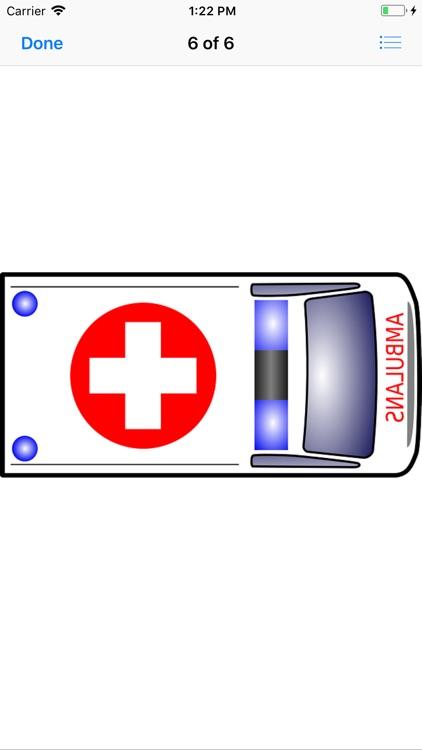Ambulance Stickers screenshot-6