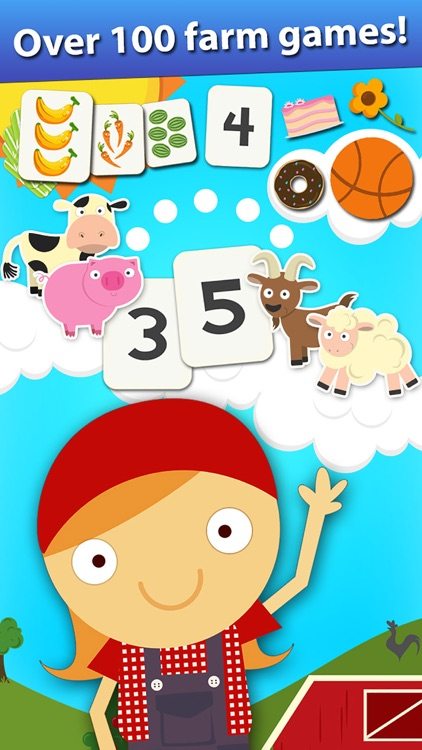 Animal Math Preschool Math Games for Kids Math App screenshot-0