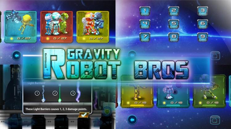 Robot Bros Gravity screenshot-4
