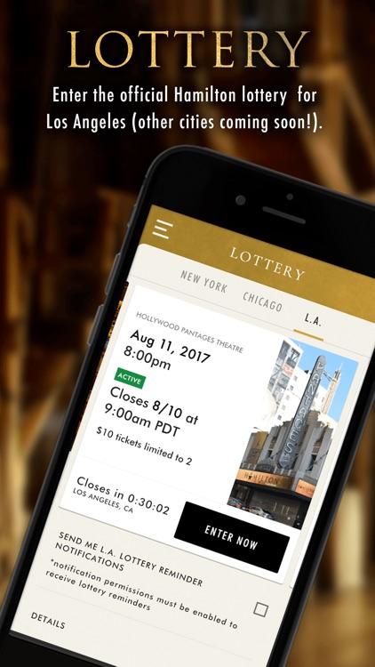 Hamilton - The Official App
