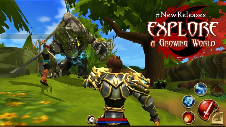 AdventureQuest 3D screenshot-2