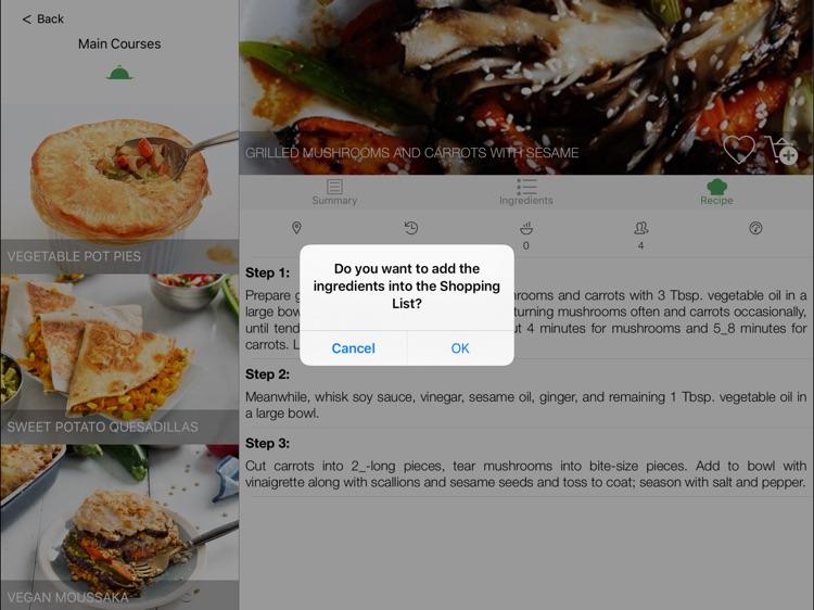 Vegan Masterchef for iPad screenshot-3