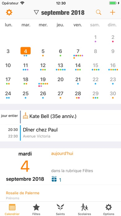 download France Agenda apps 6