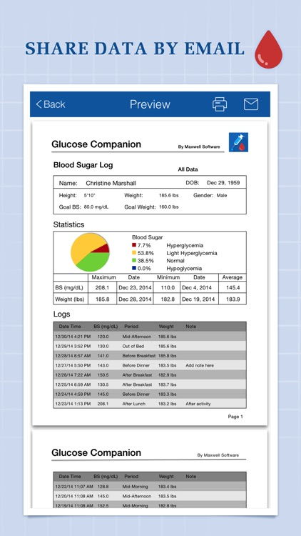 Glucose Companion Pro screenshot-4