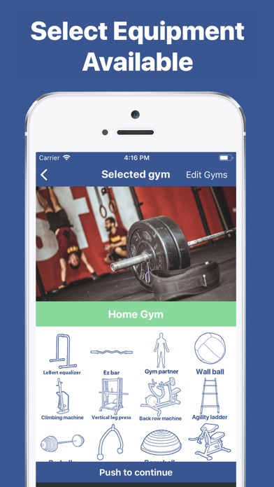 Gymster+ Gym Workout Tracker Screenshots