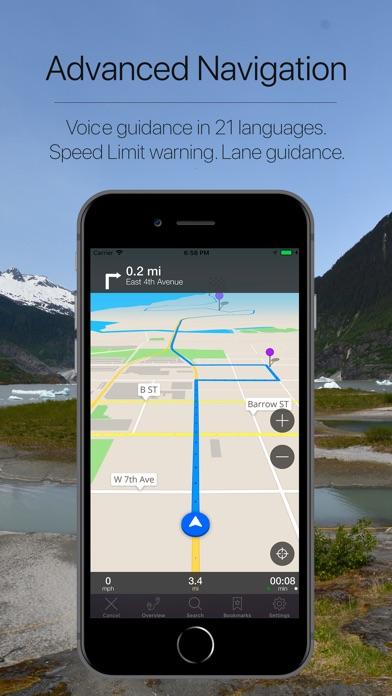 Alaska, USA Offline Navigation-3