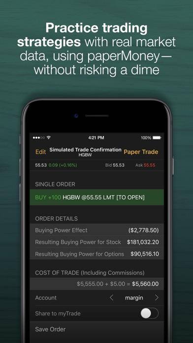 td ameritrade mobile trader ios application version 184 iosappsgames rh iosappsgames com