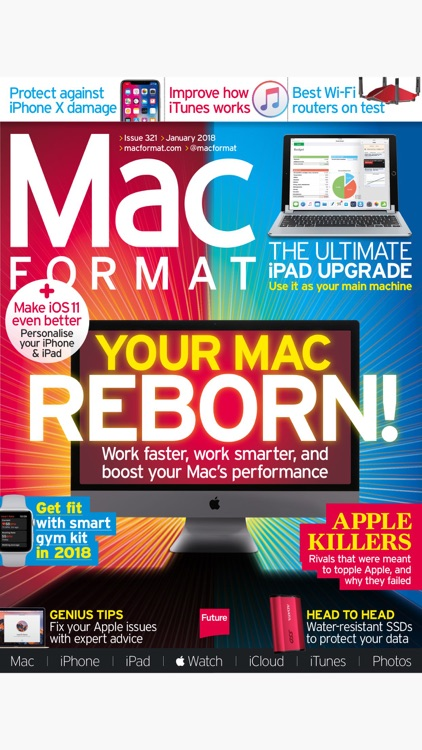 MacFormat: the Mac, iPad, iPhone & Apple magazine screenshot-0