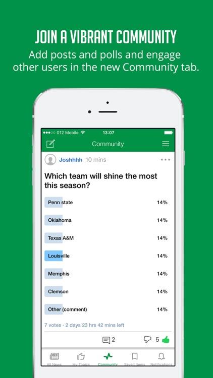 College Football News & Scores screenshot-4