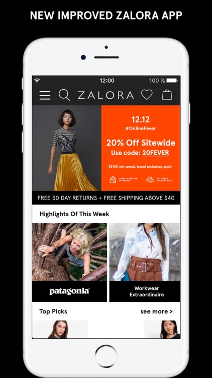 ZALORA - Fashion Shopping screenshot-1