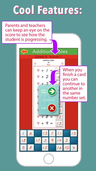 Addition Tables - Montessori screenshot 5