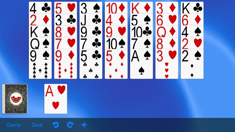5 Solitaire Games screenshot-5