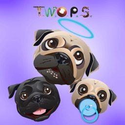 The Pug Stickers