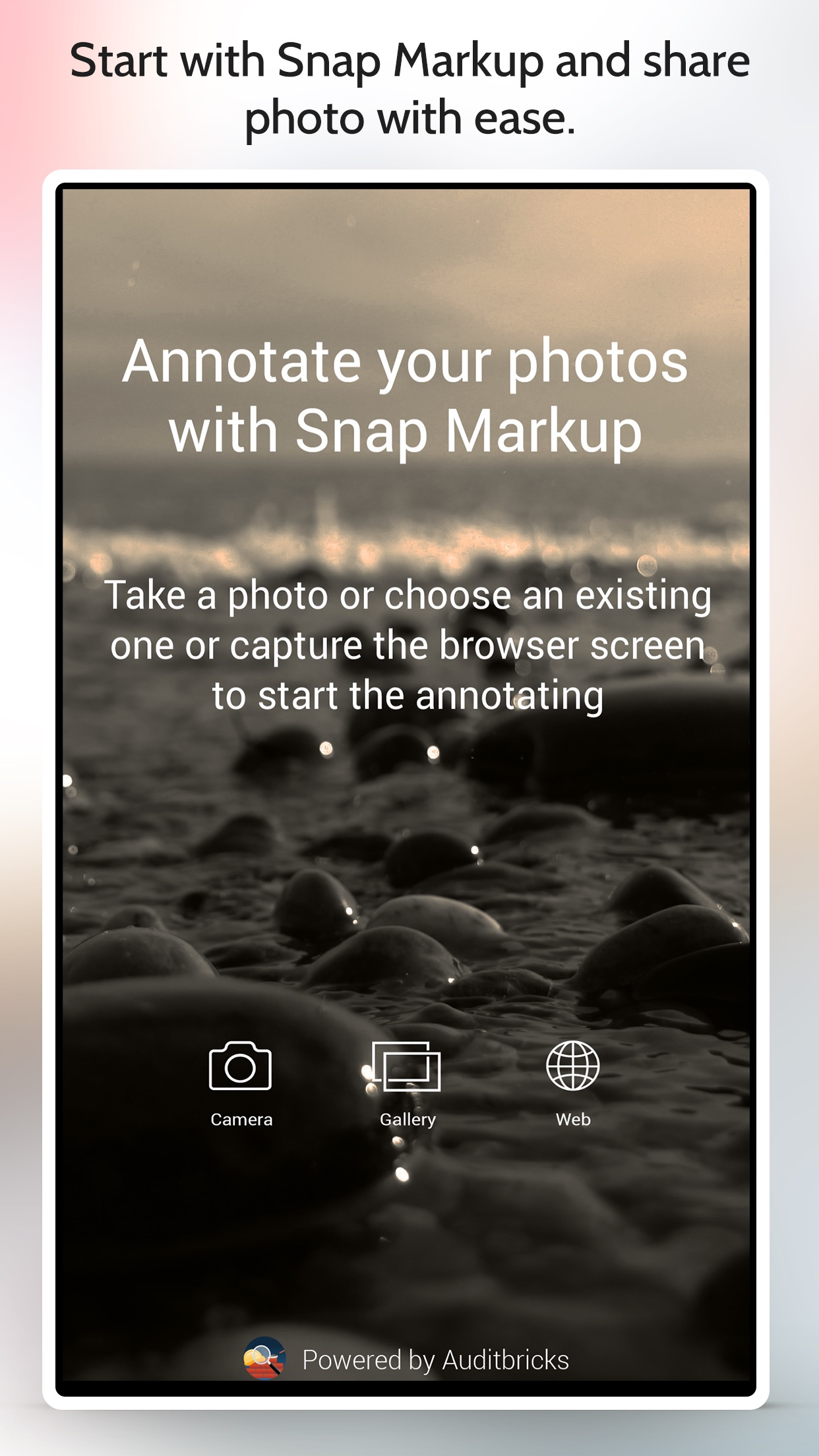 Screenshot do app Snap Markup - Annotation Tool