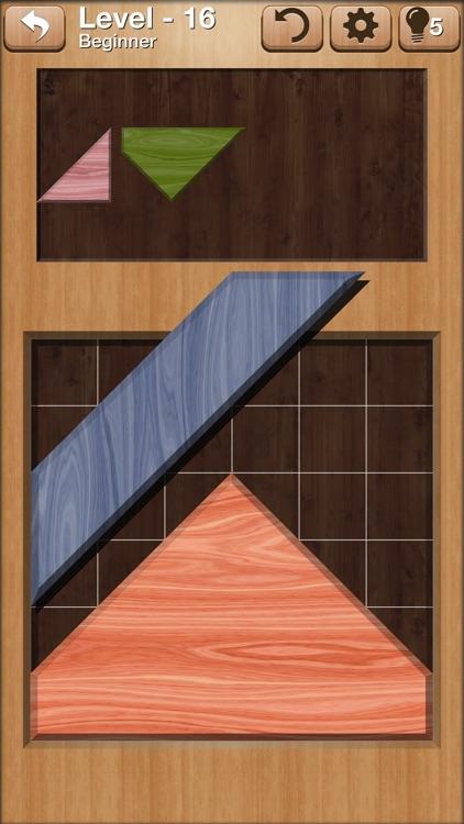 Complete Me - Tangram Puzzles screenshot-0