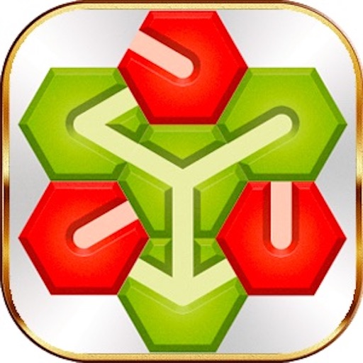 Download Hexagon Brain Puzzle free for iPhone, iPod and iPad