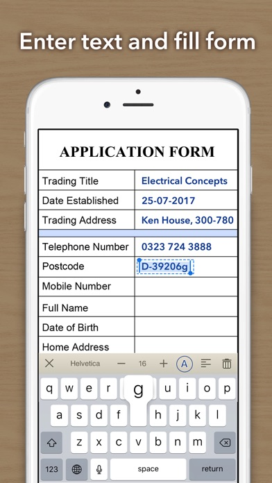 Doc Scan - Fax PDF Scanner iPhone