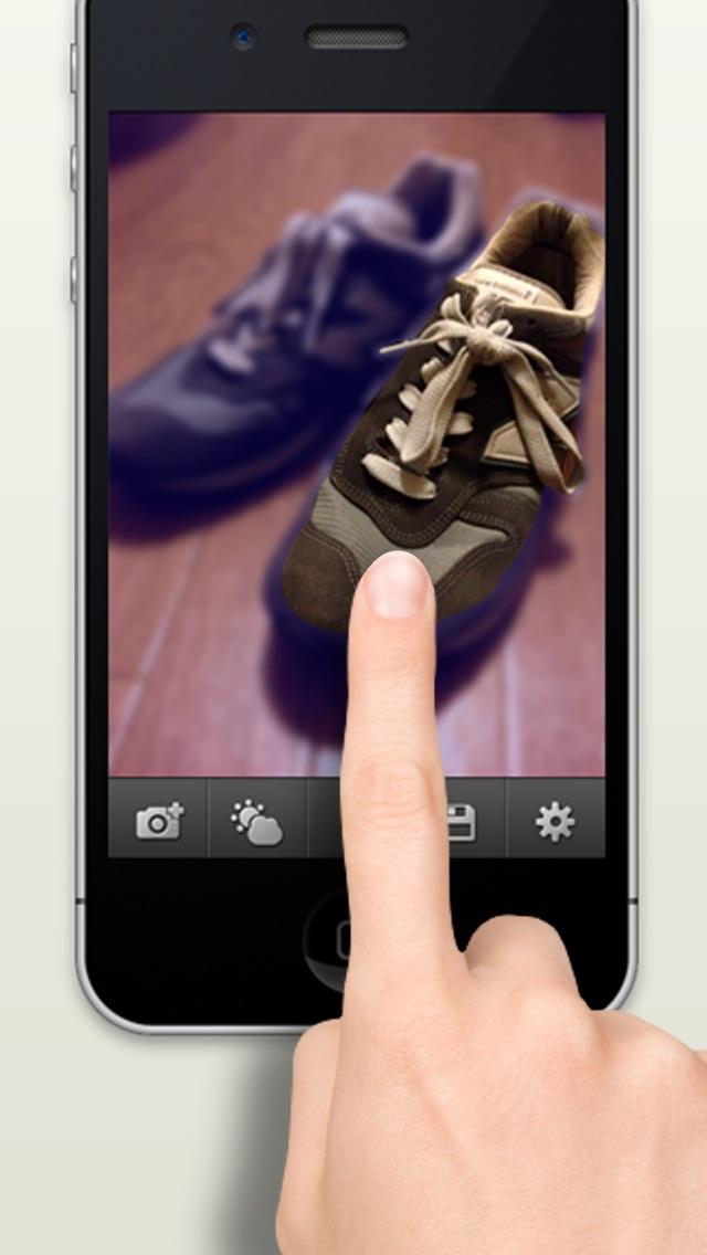 Finger Focus 一眼レンズ screenshot1