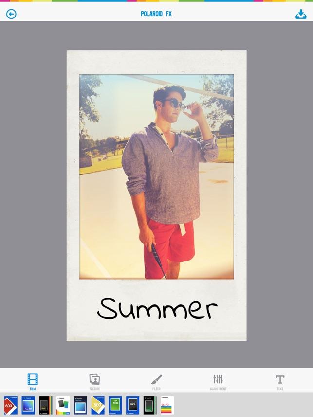Polaroid Fx im App Store