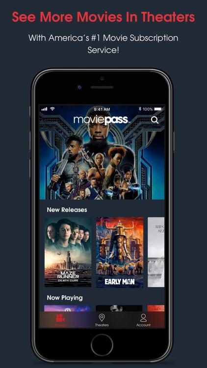 MoviePass screenshot-0