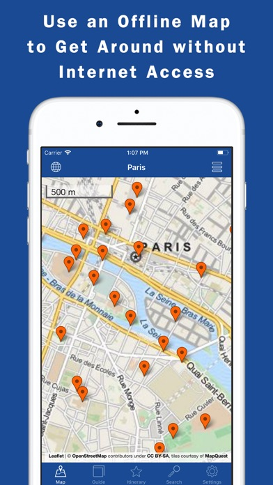 World city guides maps app price drops maps screenshot 6 for world city guides gumiabroncs Gallery