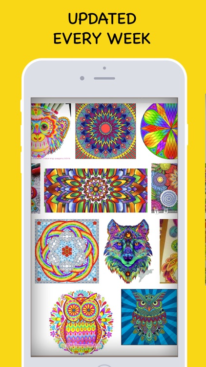 Coloring Book for Adults! screenshot-4