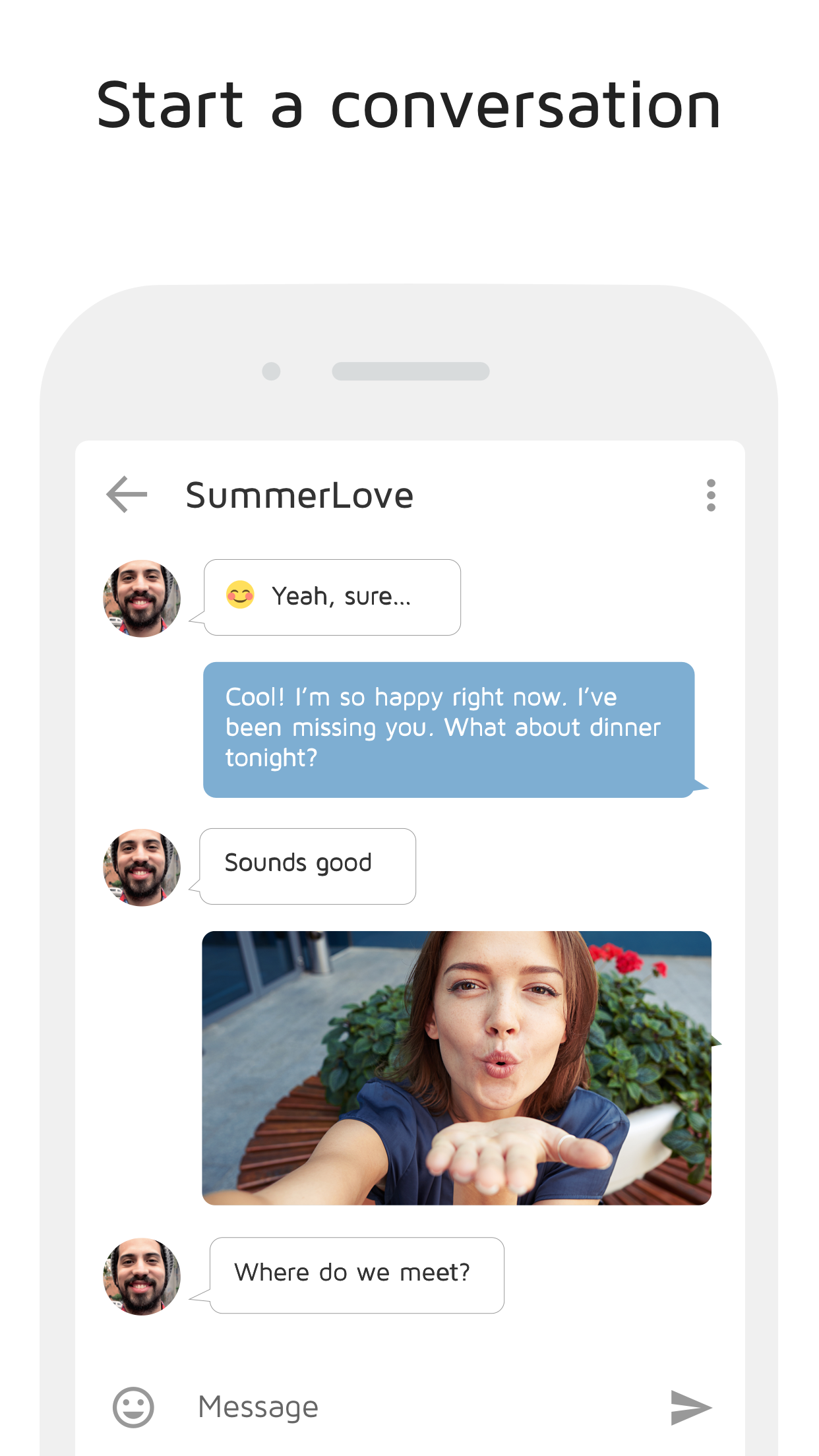 JAUMO Flirt Chat Screenshot