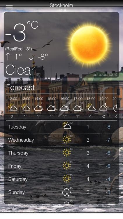 Weather App 10 Days Forecast screenshot-7