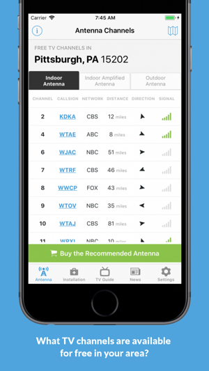 NoCable: OTA Antenna, TV Guide on the App Store