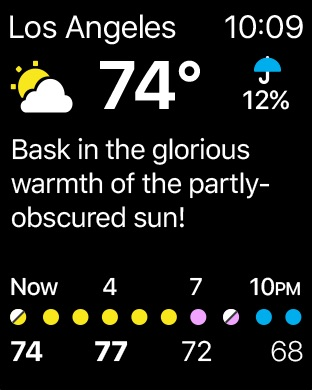 CARROT Weather Screenshot