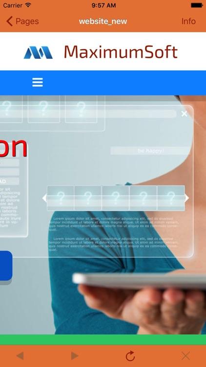 Sites-2-Go Lite screenshot-3