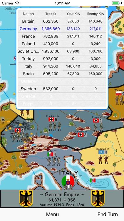 War in Europe screenshot-7