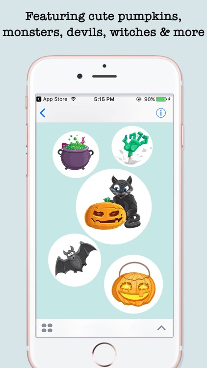 Halloween Emojis For iMessage screenshot-3