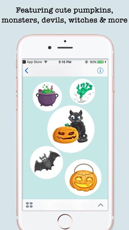 Halloween Emojis For iMessage screenshot-3