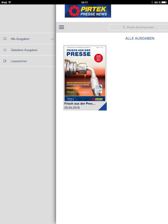 iPad Image of PIRTEK NEWS