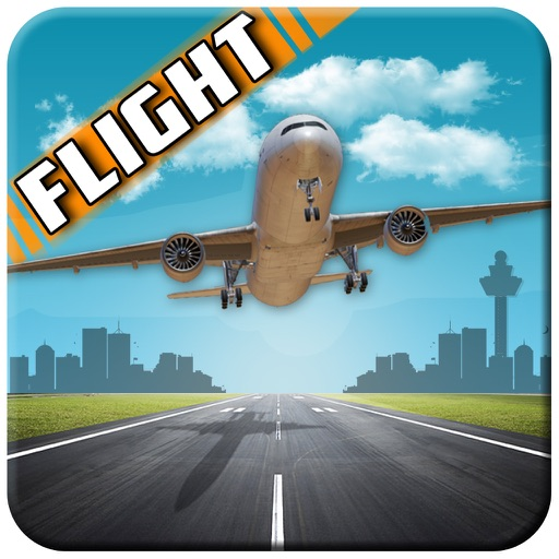 Pilot Airplane Flight 3D iOS App