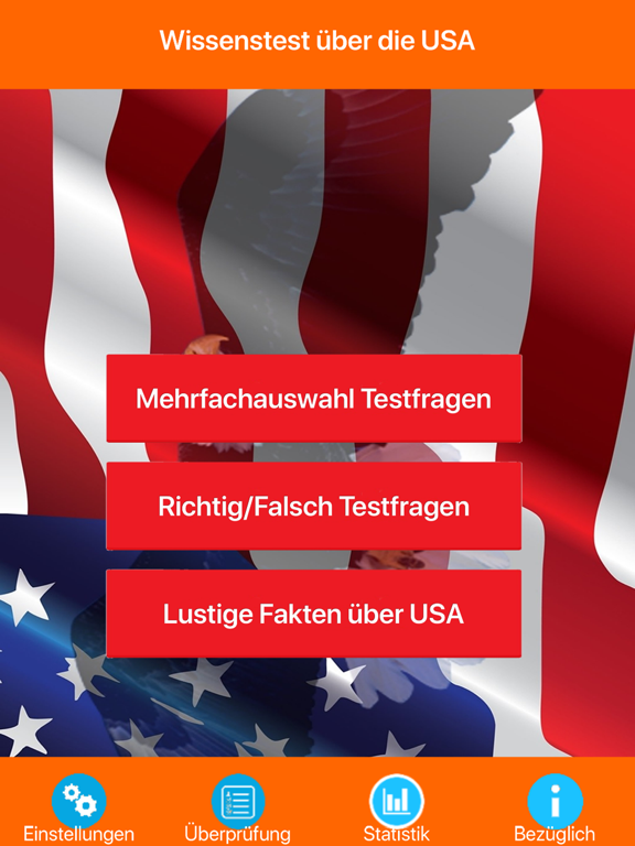 USA Wissenstest Quiz screenshot 6