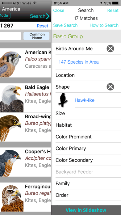 iBird Yard+ Guide to Birds Screenshot