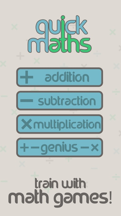 Quick Maths Arithmetic Workout screenshot three