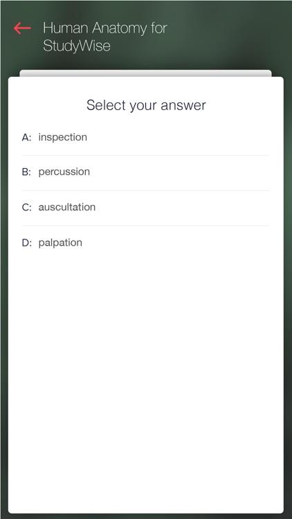 StudyWise Human Anatomy screenshot-3