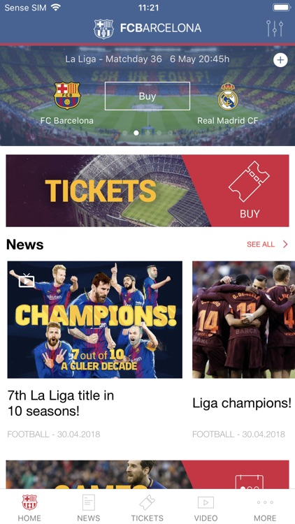 FC Barcelona Official App screenshot-0