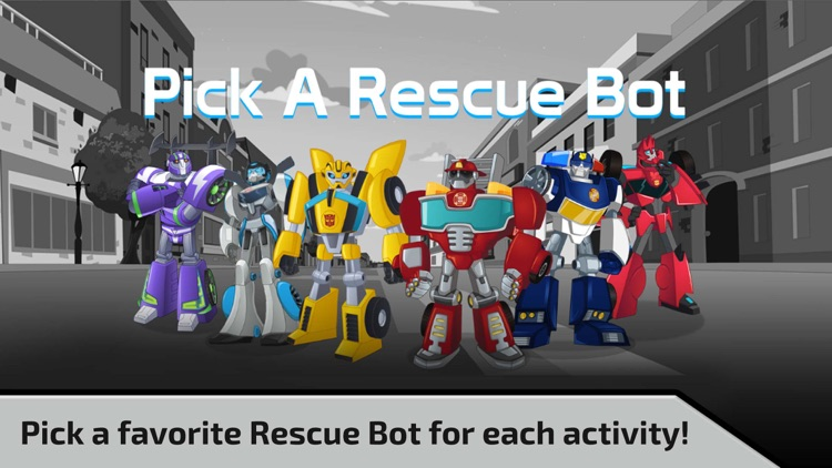 Transformers Rescue Bots screenshot-1