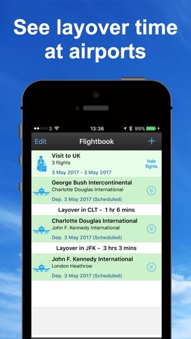 飛行トラッカーとレーダー Flight T... screenshot1